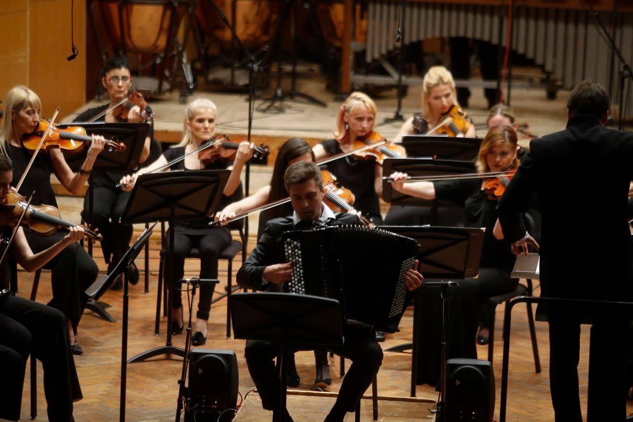 """""""Сензација"""" концерт за хармонику и оркестар"""
