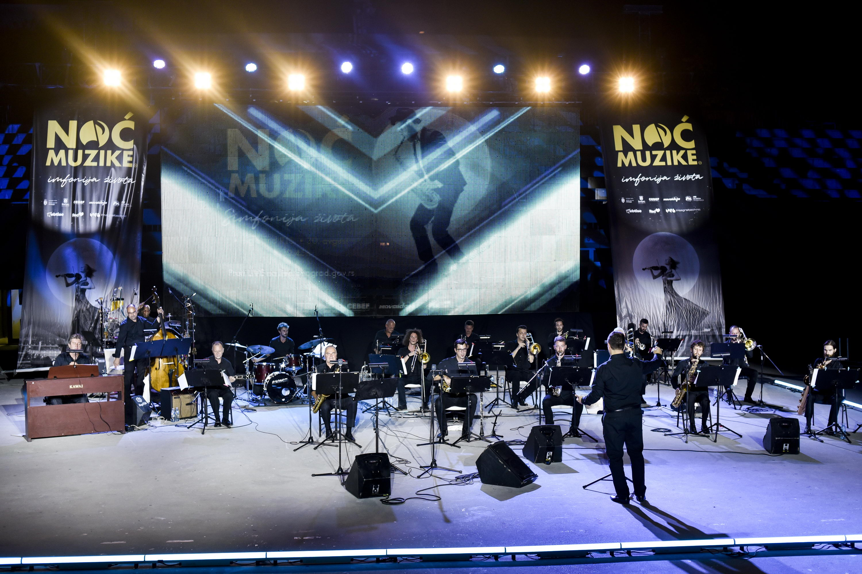 Music Night, 30.08., Big Band RTS, Таsmајdan