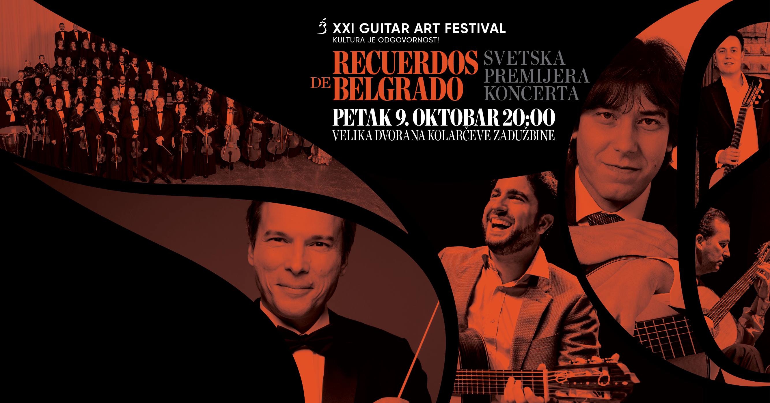 "Premiere of the concert ""Recuerdos de Belgrado"" postponed for the XXII edition of the Guitar Art Festival in March 2021"