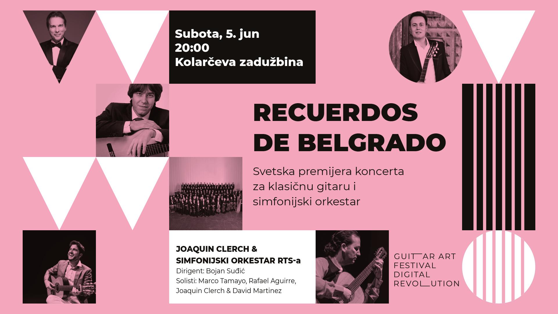 Guitar Art Festival - Recuerdos de Belgrado
